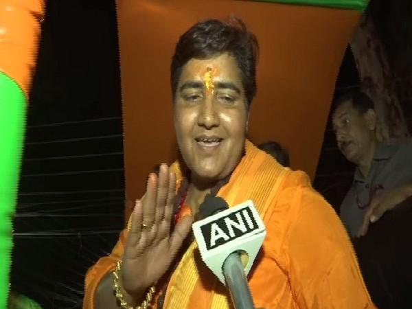Bharatiya Janata Party's Bhopal candidate Pragya Singh (File Pic)