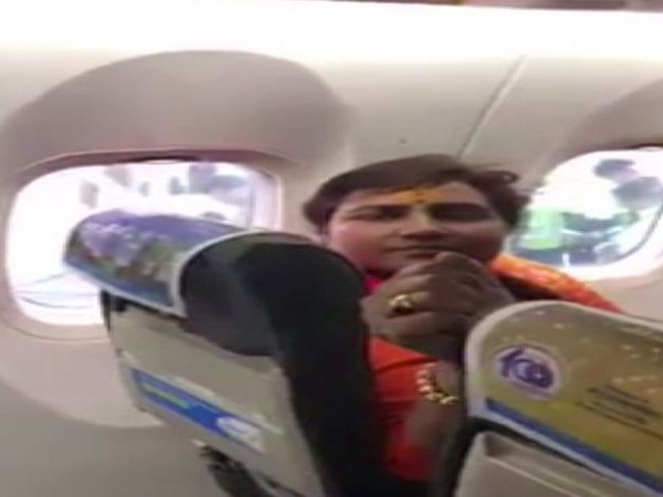 An argument broke out between BJP MP Pragya Thakur and other people onboard during Delhi-Bhopal flight.