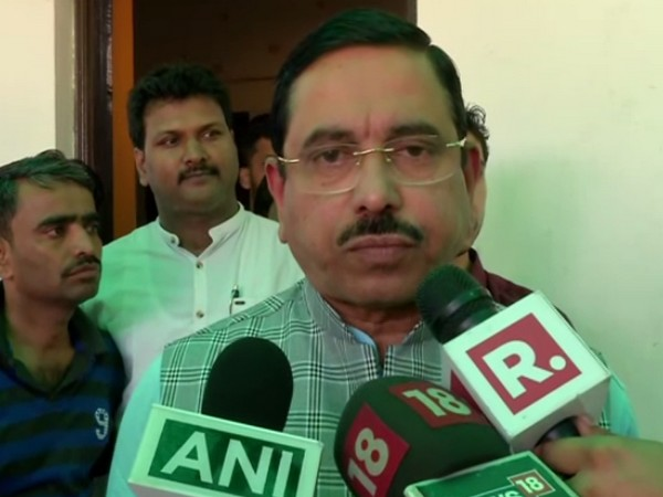Parliamentary Affairs Minister Pralhad Joshi speaking to media in New Delhi on Monday. (Photo/ANI)