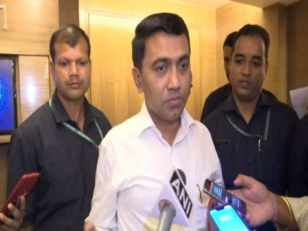 Goa Chief Minister Pramod Sawant talking to ANI over the decision to impose section 144 in the state.
