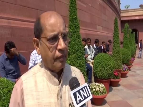 Rajya Sabha MP and Vice President of Biju Janta Dal Prasanna Acharya [File Photo/ANI]