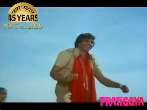 Actor Dharmendra Deol's film 'Pratiggya' completes 45 years of its release (Image source: Twitter)