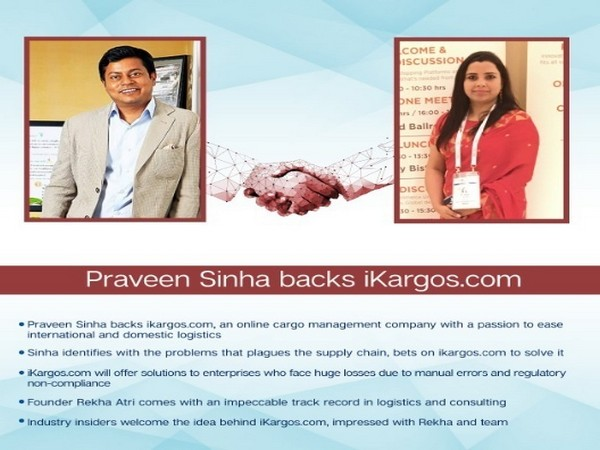 Praveen Sinha backs iKargos.com