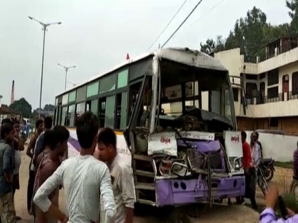 The mishap took place in Ghurpur area on Monday. Photo/ANI