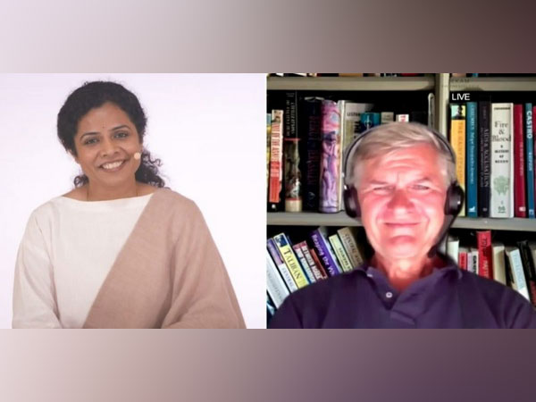 Preethaji, Co-creator of Ekam and Erik Solheim - A Former Minister in Norway