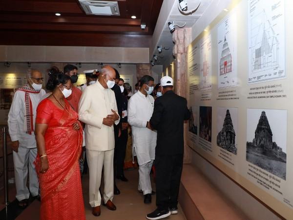 President Ram Nath Kovind at Indian Oil Foundation (IOF) Trust Interpretation Centre at Konark.