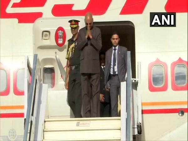 President Ram Nath Kovind arrived in Guinea on Thursday