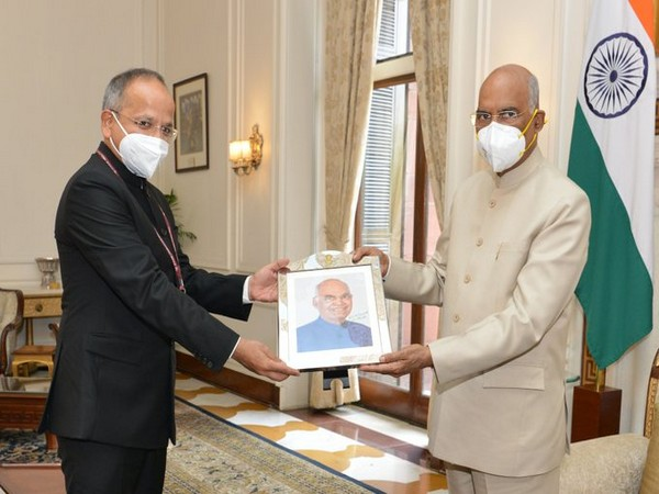 India's Ambassador-designate to Afghanistan called on President Ram Nath Kovind on Monday.