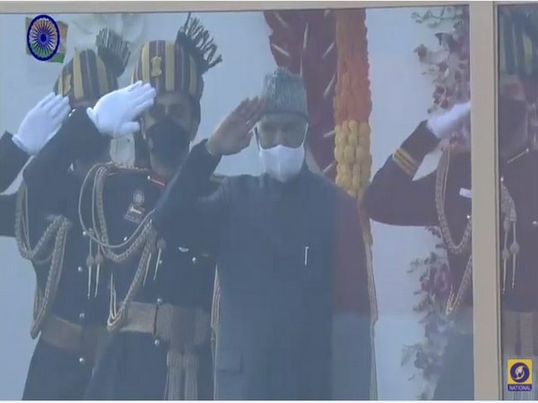 The parade commenced with President Ram Nath Kovind taking the salute.