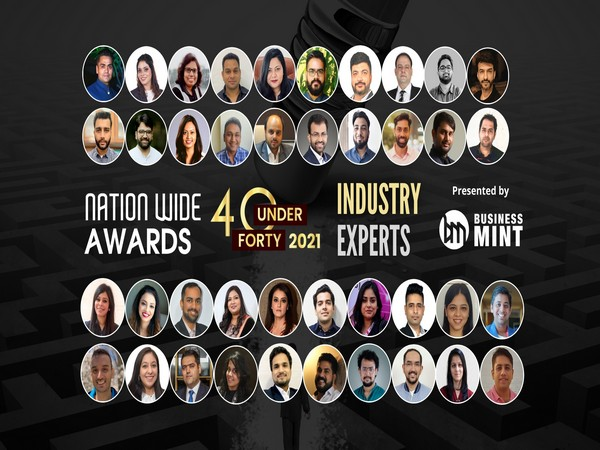 The 2021 Business Mint's Nationwide Awards 40 under 40 industry experts