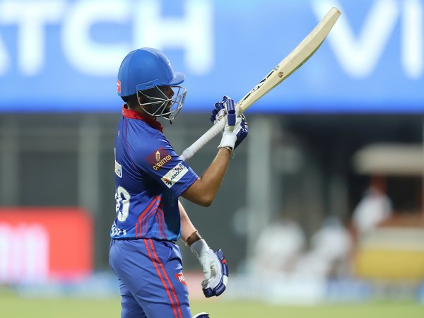Delhi Capitals batsman Prithvi Shaw (Photo/ IPL Twitter)