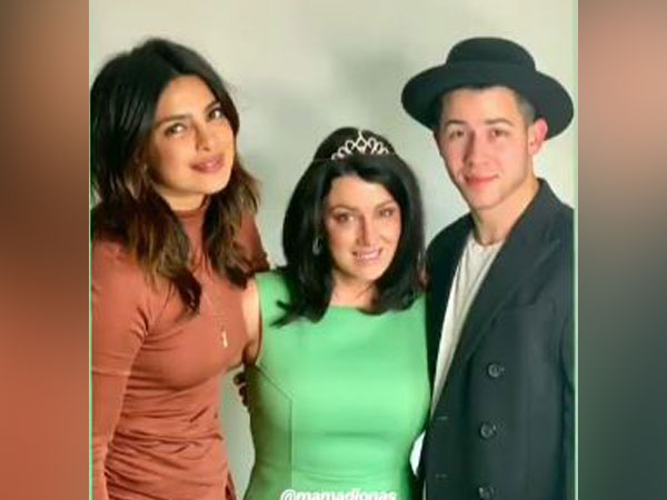 Priyanka Chopra with Denise Jonas and Nick Jonas (Image Courtesy: Instagram)