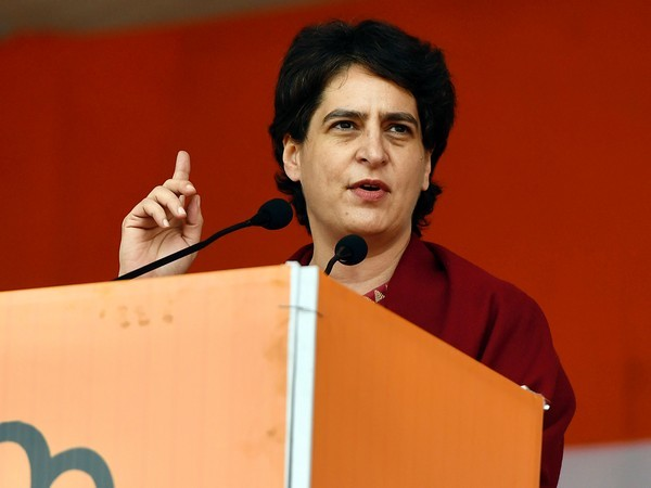 Congress general secretary Priyanka Gandhi Vadra (File photo/ANI)