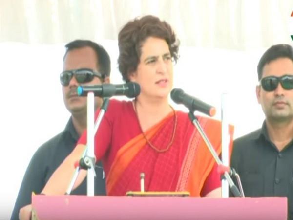 Congress' general secretary Priyanka Gandhi Vadra (File pic)