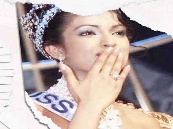 Priyanka Chopra's winning moment from Miss World 2020. (Image Source: Instagram)