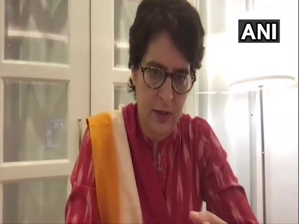 Congress General Secretary Priyanka Gandhi Vadra. (Photo/ANI)