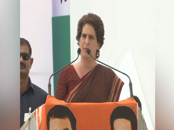 Congress general secretary Priyanka Gandhi (File photo/ANI)