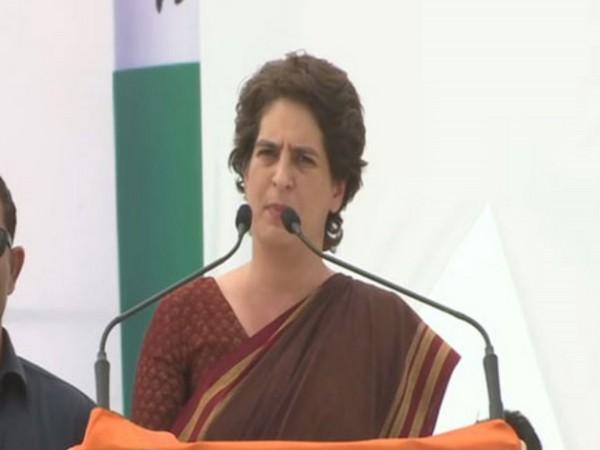 Congress leader Priyanka Gandhi (File Photo/ANI)
