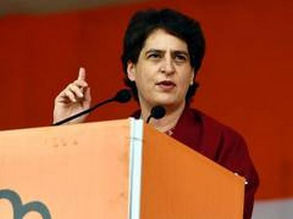 Congress leader Priyanka Gandhi Vadra. (File Photo/ANI)