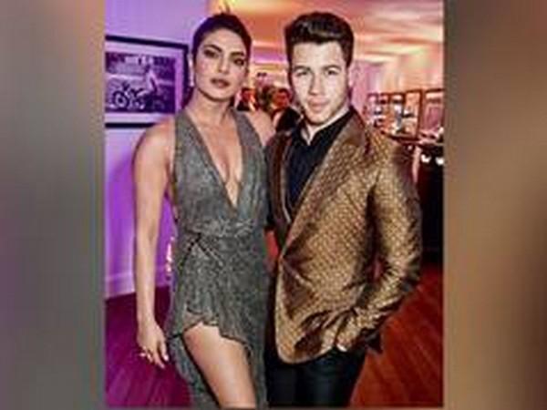 Actor Priyanka Chopra with husband ans singer Nick Jonas (Image Source: Instagram)
