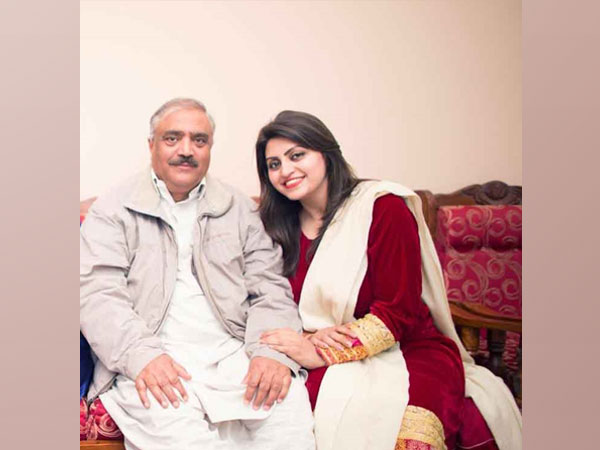 Professor Muhammad Ismail and his daughter Gulalai Ismail.