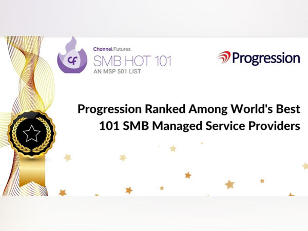 Progression ranked among world's best 101 SMB managed service providers