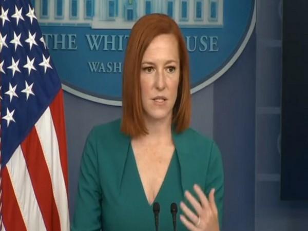 White House Press Secretary Jen Psaki (File image)