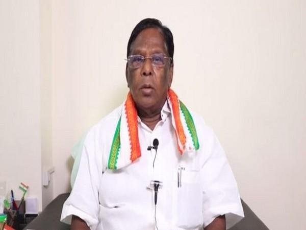 Puducherry Chief Minister V Narayanasamy (File photo)