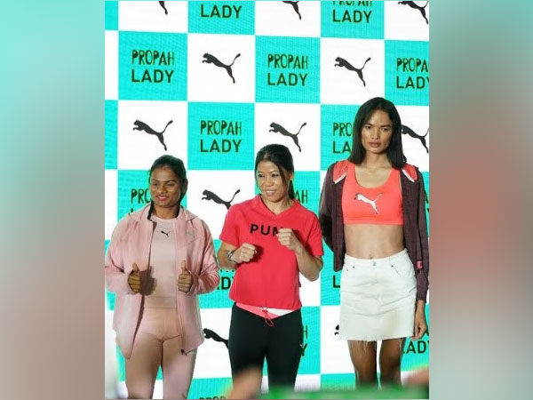 Dutee Chand, Mary Kom and Anjali Lama