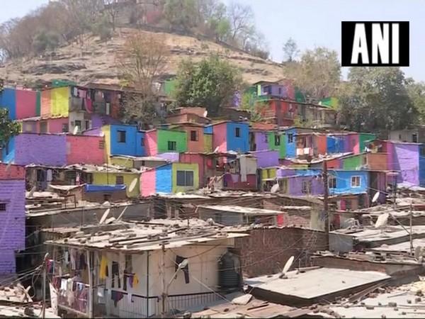Pune's slum painted under 'Misaal Mumbai' initiative (Photo/ANI)