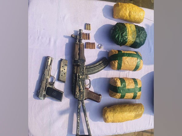 Visual of the seized items.