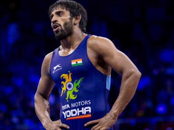 Indian wrestler Bajrang Punia
