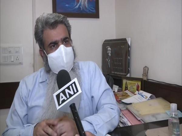Food and Supplies Minister Bharat Bhushan Ashu speaking to ANI. [Photo/ANI]
