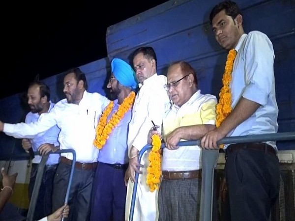 107 years anniversary of Punjab Mail celebrated at Kotakppura Railway Station in Punjab