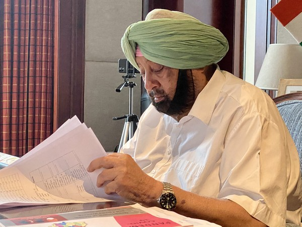 Punjab Chief Minister Captain Amarinder Singh. (Photo/Twitter)