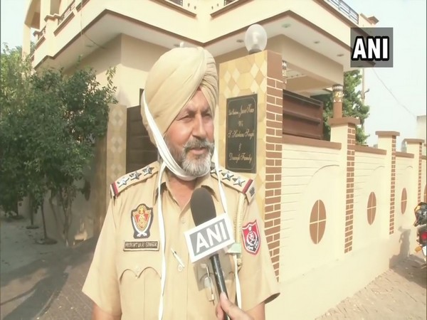A Punjab police personnel talking to ANI about the death of Trilochan Singh who hails from Mosahib village of Jalandhar district.