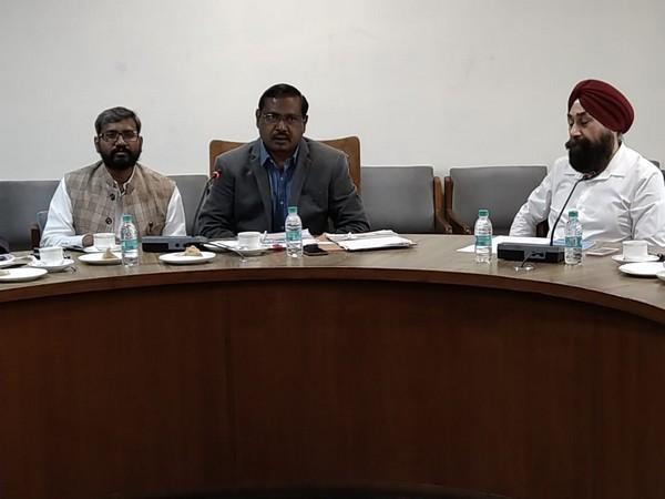 Punjab Chief Electoral Officer S. Karuna Raju holds meeting in Chandigarh
