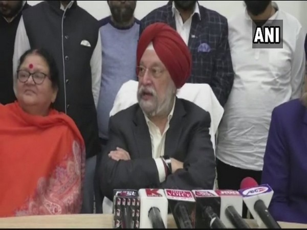 Union Minister of State for Housing and Urban Affairs Hardeep Singh Puri