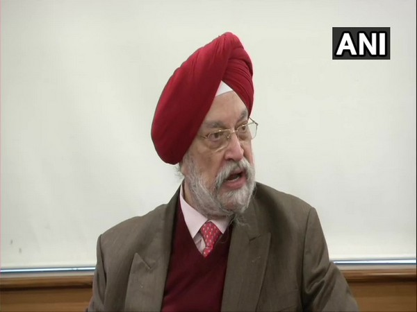 Civil Aviation Minister Hardeep Singh Puri. Photo/ANI