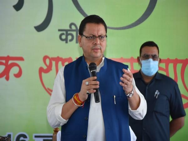 Uttarakhand Chief Minister Pushkar Singh Dhami. (Photo/ANI)