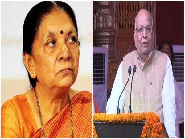 Anandiben Patel (L) Lalji Tandon (R)