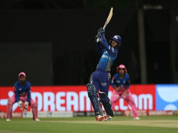 Mumbai Indians wicket-keeper Quinton de Kock (Photo: BCCI/ IPL)