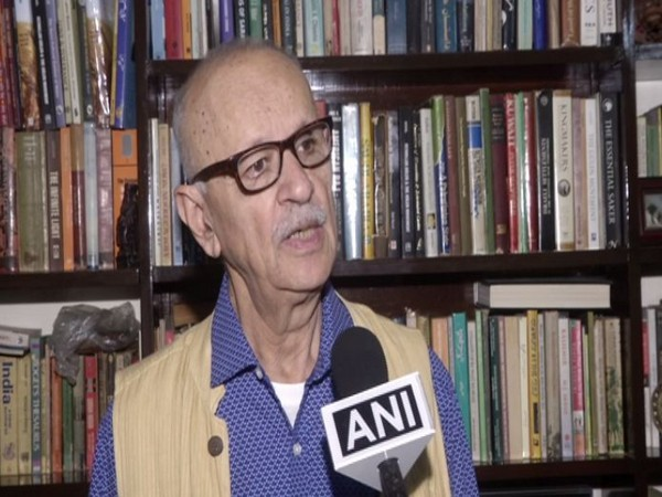 Defence Expert Qamar Agha in conversation with ANI on Monday. Photo/ANI