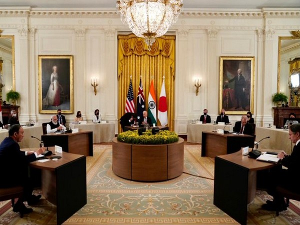 Quad leaders at Washington on Friday