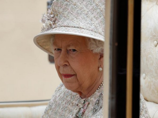 Britain's Queen Elizabeth takes part in the Trooping the Colour parade in central London