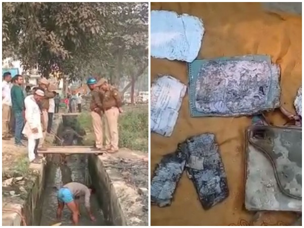 SIT searched drain adjacent to Chinmayanand's Ashram in Shahjahanpur on Saturday , recovers purse , exam papers etc