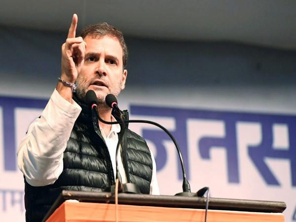 Congress leader Rahul Gandhi. (File Photo/ANI)