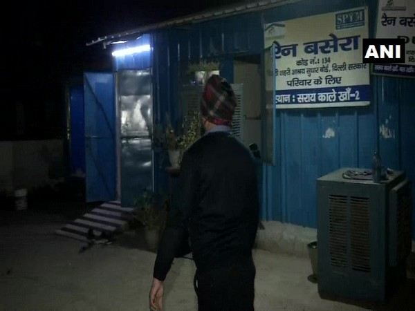 A night shelter in Sarai Kale Khan. (Photo/ANI)