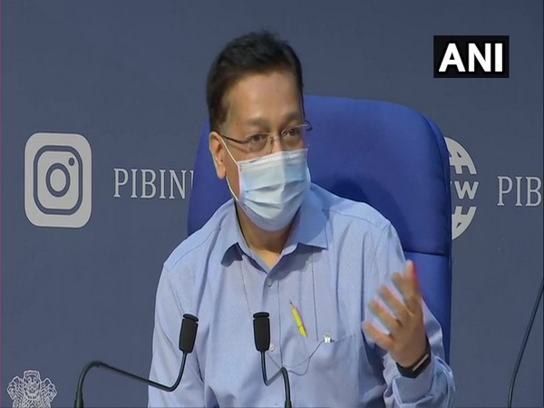 Rajesh Bhushan, Union Health Secretary during press conference on Thursday. (ANI)