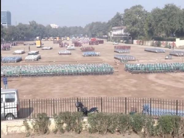 Scenes at Ram Lila Maidan